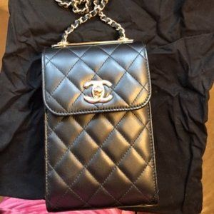 Chanel CC and Phone Holder